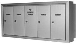 Condo mailbox installation